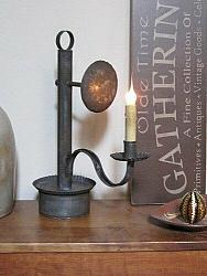 NEW Authentic Handcrafted Early American Colonial Tinsmith ADELAIDE Table Lamp